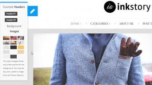 InkStory - Personal, News, Blog WordPress Theme Preview - ThemeForest