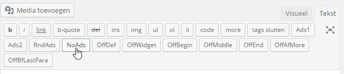 Quick Adsense Invoeg Codes