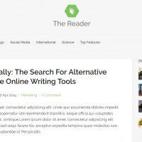 The Reader – Een Minimal Blog Thema voor WordPress