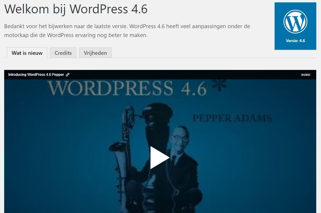 WordPress Magazine - WordPress 4.6
