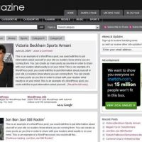 WordPress Magazine Theme van Studiopress